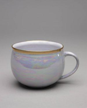 Landbeck Keramik Tasse Perlmut Lüster