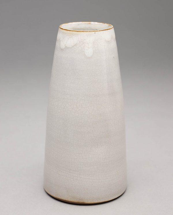 Landbeck Keramik kleine Vase Hellrosa KrakeleeLandbeck Keramik kleine Vase Beige Krakelee