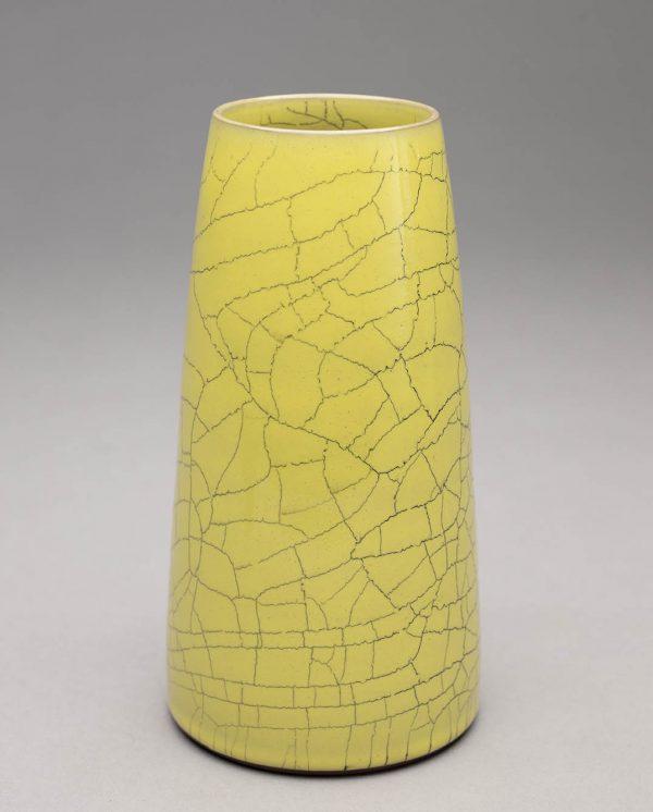 Landbeck Keramik kleine Vase Hellrosa KrakeleeLandbeck Keramik kleine Vase Gelb Krakelee