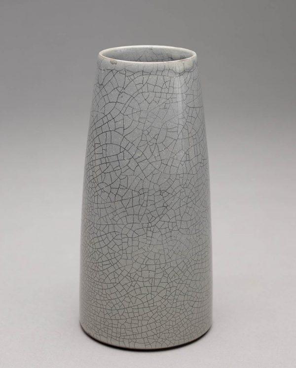 Landbeck Keramik kleine Vase Hellrosa KrakeleeLandbeck Keramik kleine Vase Grau Krakelee