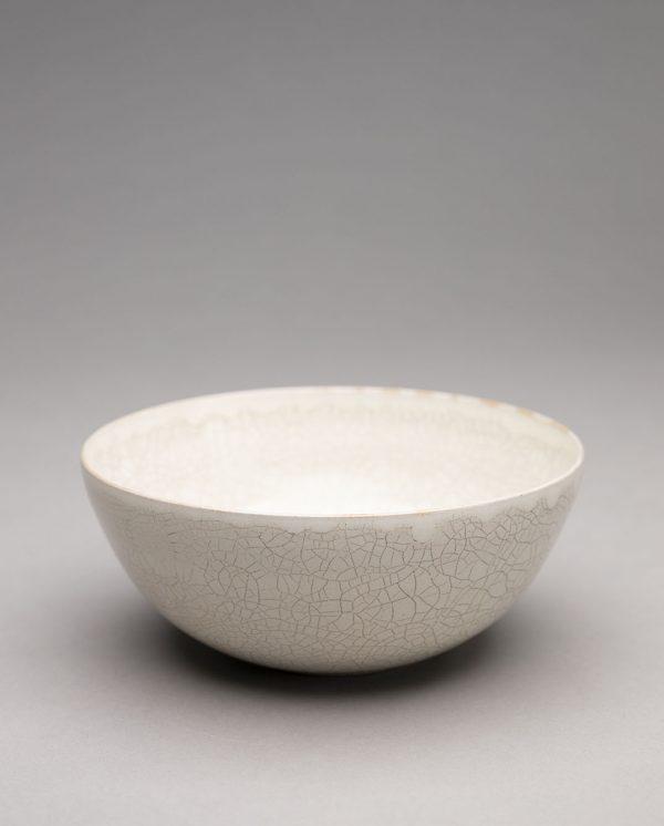 Landbeck Keramik Schale Beige Krakelee