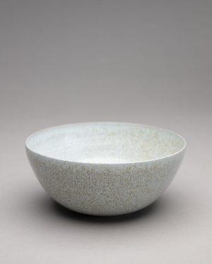 Landbeck Keramik Schale Hellblau Krakelee