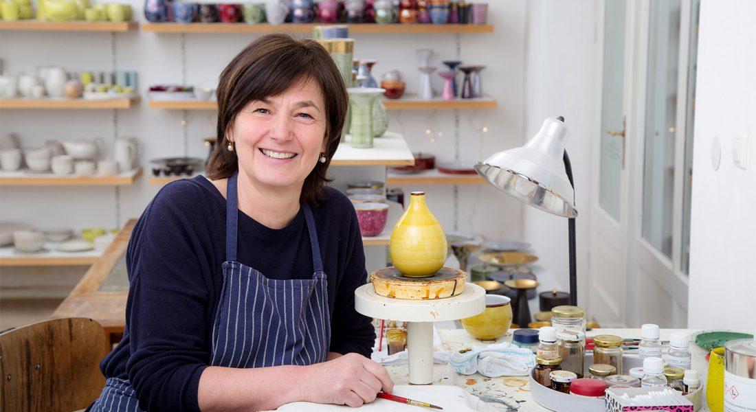 Christiane Landbeck Keramik Ladenwerkstatt Handwerk